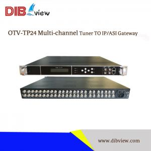 OTV-TP24  4/8/12/16/20/24 Ch Tuner To IP/ASI Gateway