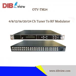 OTV-TM24  4/8/12/16/20/24 Ch Tuner To RF Modulator