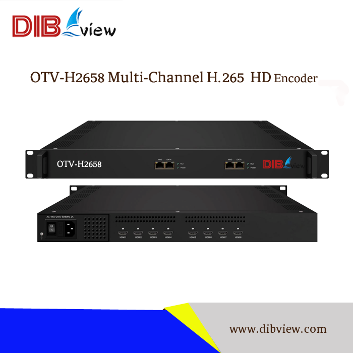 OTV-H2658 H 265 HEVC 8 In 1 HD Encoder with ASI out fujitsu