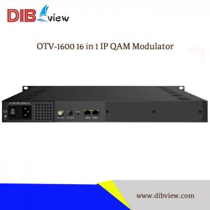 OTV-1600 16 in 1 IPEdge QAM Modulator
