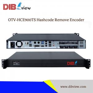 OTV-HCE900TS IPTV Encoder Server ( IP & ASI Out ) Hotel TV System 8 HDMI to ASI IP Streamer Hashcode Remove Encoder