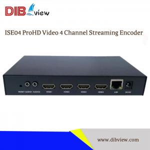 ISE04 ProHD 4 Channel Video Streaming Encoder