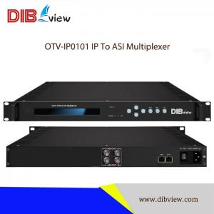 OTV-IP0101 512IP (SPTS/MPTS) to ASI IP Multiplexer