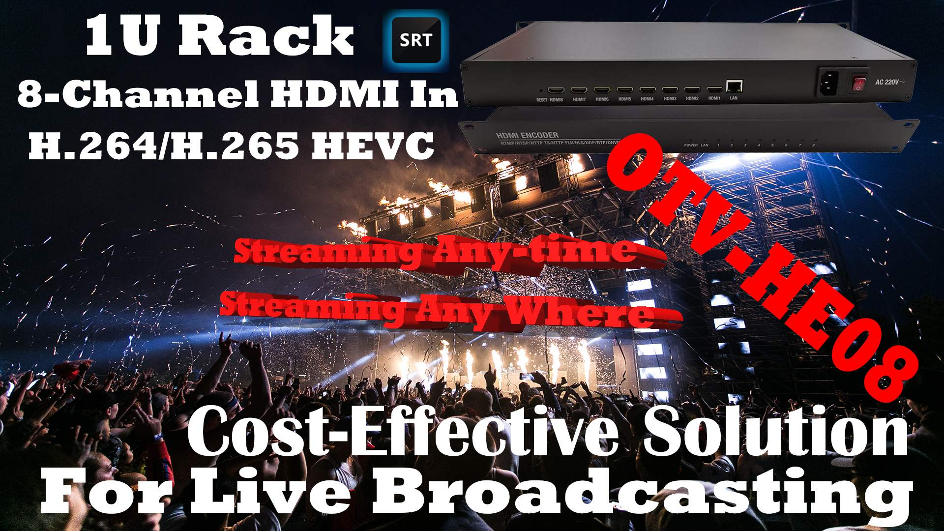 H.265 Streaming Encoder