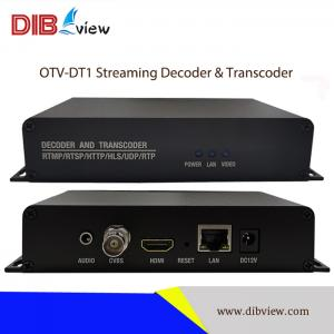 OTV-DT1 H.264 H.265 ProVideo Streaming Decoder and Transcoder
