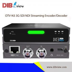 OTV-N3 3G-SDI UHD NDI Streaming Encoder Decoder