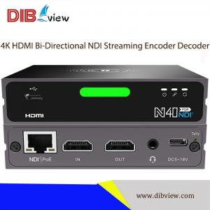 OTV-N40 UHD 4K P60 HDMI Bi-Directional NDI Streaming Encoder Decoder