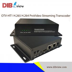OTV-HT1 H.265 H.264 ProVideo Streaming IPTV Transcoder
