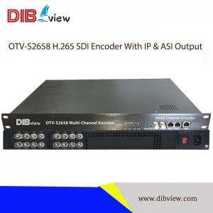 OTV-S2658 Broadcast Level Multi-Channel SDI H.264 H.265 HD Encoder With IP & ASI Output