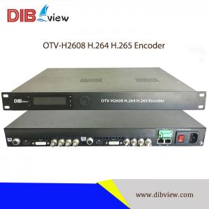 OTV-H2608 8-Channel H.264 H.265 Encoder With Multiple Ports Inputs