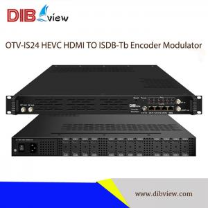OTV-IS24 Multi-Channel H.265 HEVC HDMI TO ISDB-Tb RF Modulator
