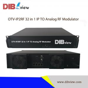 OTV-IP2RF 32 in 1 IP TO Analog RF Modulator