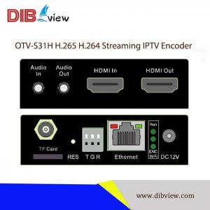 OTV-S31H H.265 H.264 Streaming IPTV Encoder