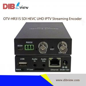 OTV-HR31S SDI HEVC UHD IPTV Streaming Encoder With Recording functions