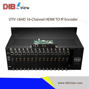 OTV-16HD Multi-channel IPTV Streaming Encoder