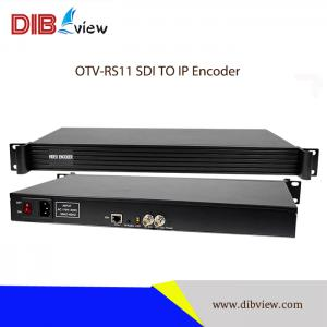 OTV-RS11 1U Rack SDI IPTV Streaming Encoder